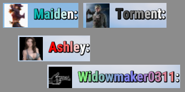 Colored Names